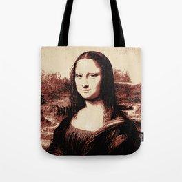 Mona Lisa Vintage Tote Bag