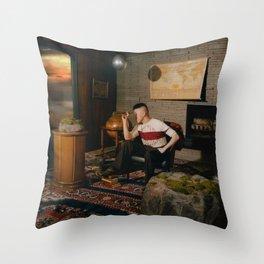 Rich Brian Sailor Throw Pillow