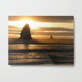 Pacific Northwest Sunset Metal Print