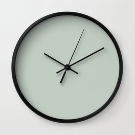 Pale Aqua Wall Clock