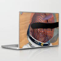 spaceman Laptop & iPad Skins featuring Spaceman No:2 by FAMOUS WHEN DEAD