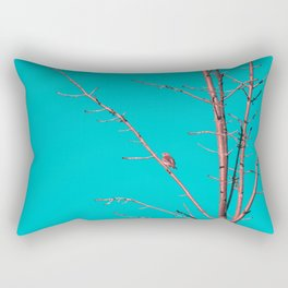 The end of winter Rectangular Pillow