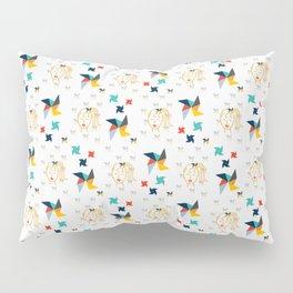Pinwheels and Ponytails Pillow Sham