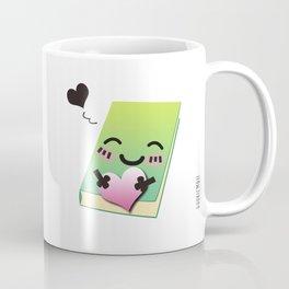 Book Emoji Love Coffee Mug