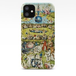 Hieronymus Bosch - The Garden Of Earthly Delights iPhone Case