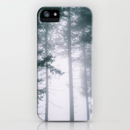 Moody Forest II iPhone Case