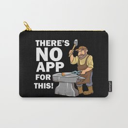 Blacksmith Design: There's No App For This I Steel Workshop Carry-All Pouch