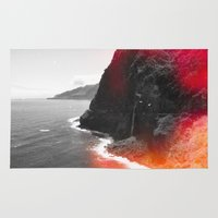 portugal Area & Throw Rugs featuring Madeira Portugal  by Alex Marcano