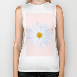 Daisy On Pink Biker Tank