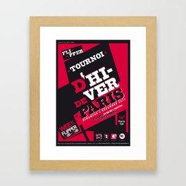 Pinball Contest  Framed Art Print