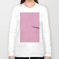 floyd Long Sleeve T-shirts featuring Pink floyd  by Queen Lizard