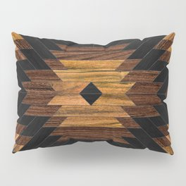 Urban Tribal Pattern 7 - Aztec - Wood Pillow Sham