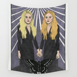 The Twins Wall Tapestry