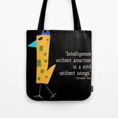 a bird without wings Tote Bag
