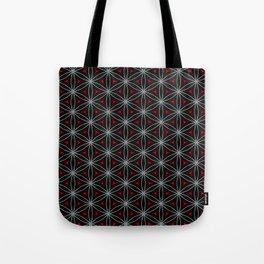 Geometry Flower Tote Bag