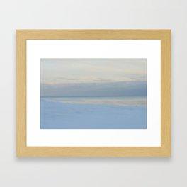 true blue... Framed Art Print