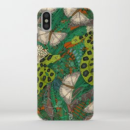 entangled forest rust iPhone Case