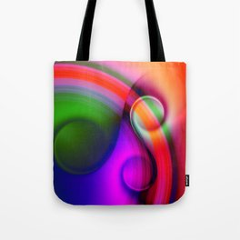color whirl -10- Tote Bag
