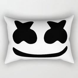 Marsmellow Face Rectangular Pillow