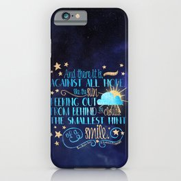 These Broken Stars - Smile iPhone Case