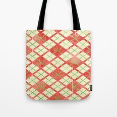 Vintage Wrapping Paper Tote Bag