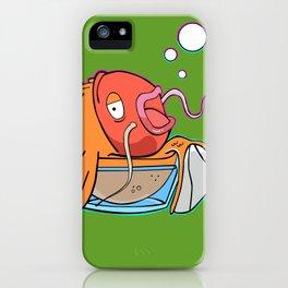 Magiklaus Klaus/ Magicarp mashup iPhone Case