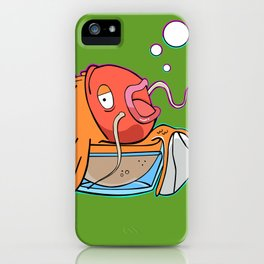 Magiklaus Klaus/ Magicarp mashup iPhone Case