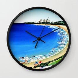 Mooloolaba by Jolene Ejmont Wall Clock