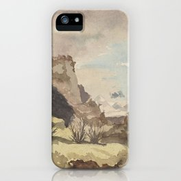 islay-landscape by John Francis Campbell iPhone Case