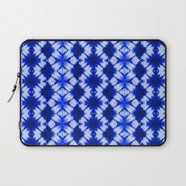 indigo shibori print Laptop Sleeve
