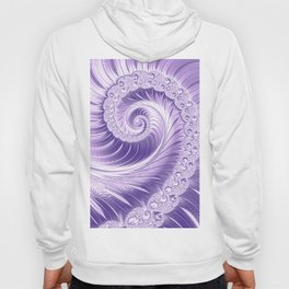 Ultra Violet Luxe Spiral Pattern | Trendy Color of the Year 2018 Hoody