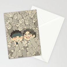 MGS - Snake, Otacon, and 50 Huskies Stationery Cards