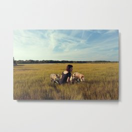 the summoning Metal Print