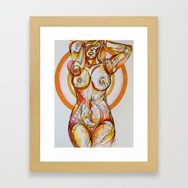 Love Yourself As You Are Framed Art Print