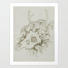 Dead Spring Art Print