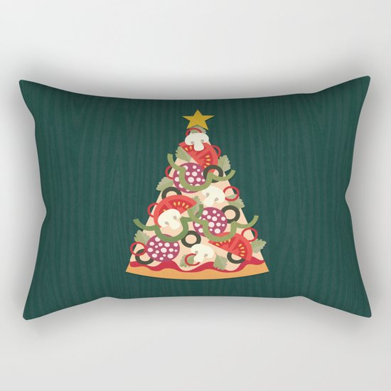 PIZZA ON EARTH Rectangular Pillow