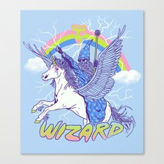 Pizza Wizard Canvas Print