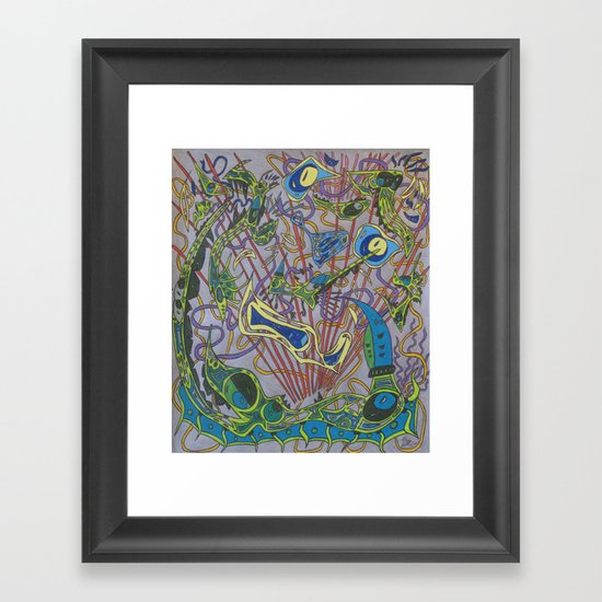 The Unconquerable Framed Art Print