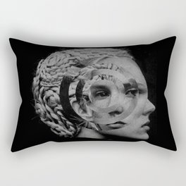 B/W Rectangular Pillow
