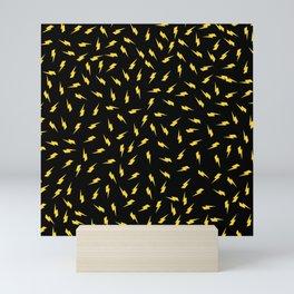 Yellow Bolt Mini Art Print