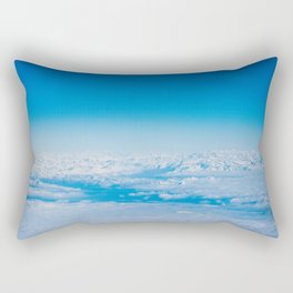 In the sky Rectangular Pillow