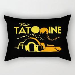 lets visit Tatooine Rectangular Pillow