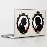 ellie goulding Laptop & iPad Skins featuring Ellie by Duke Dastardly