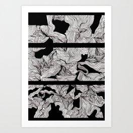Blackness 2 Art Print