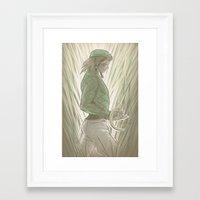 jjba Framed Art Prints featuring Diego Brando - Steel Ball Run - JJBA by A.D. Bravo