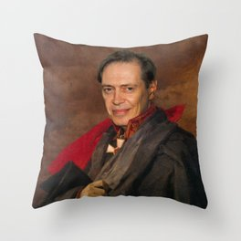 Steve Buscemi Poster, Classical Painting, Regal art, General, Actor Print, Celebrity Throw Pillow