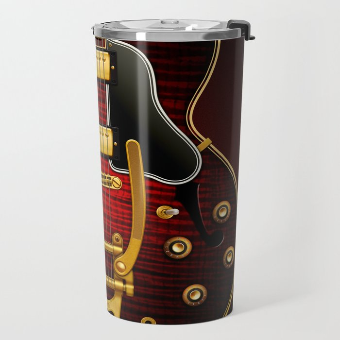 Electric Guitar ES 335 Flamed Maple Travel Mug