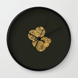 Zen the circles Wall Clock