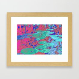 Lily Pool Framed Art Print