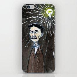 Nikola Tesla's idea iPhone Skin
